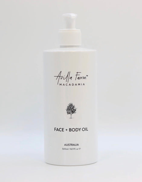 Macadamia Face and Body Oil 500ml