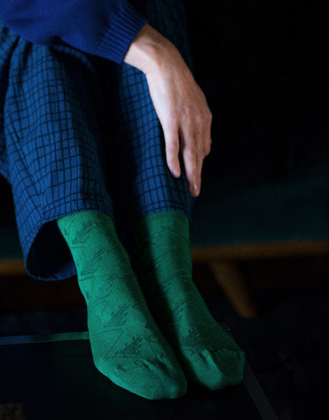 Bacchus Socks in Green