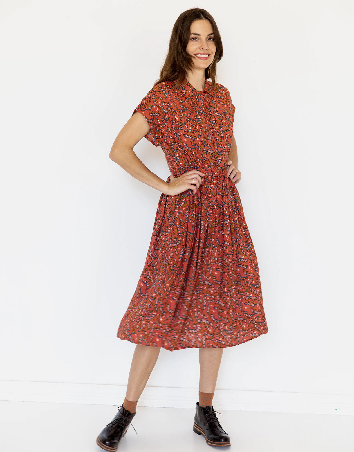 Beatrix Dress in Arbor *sustainable viscose