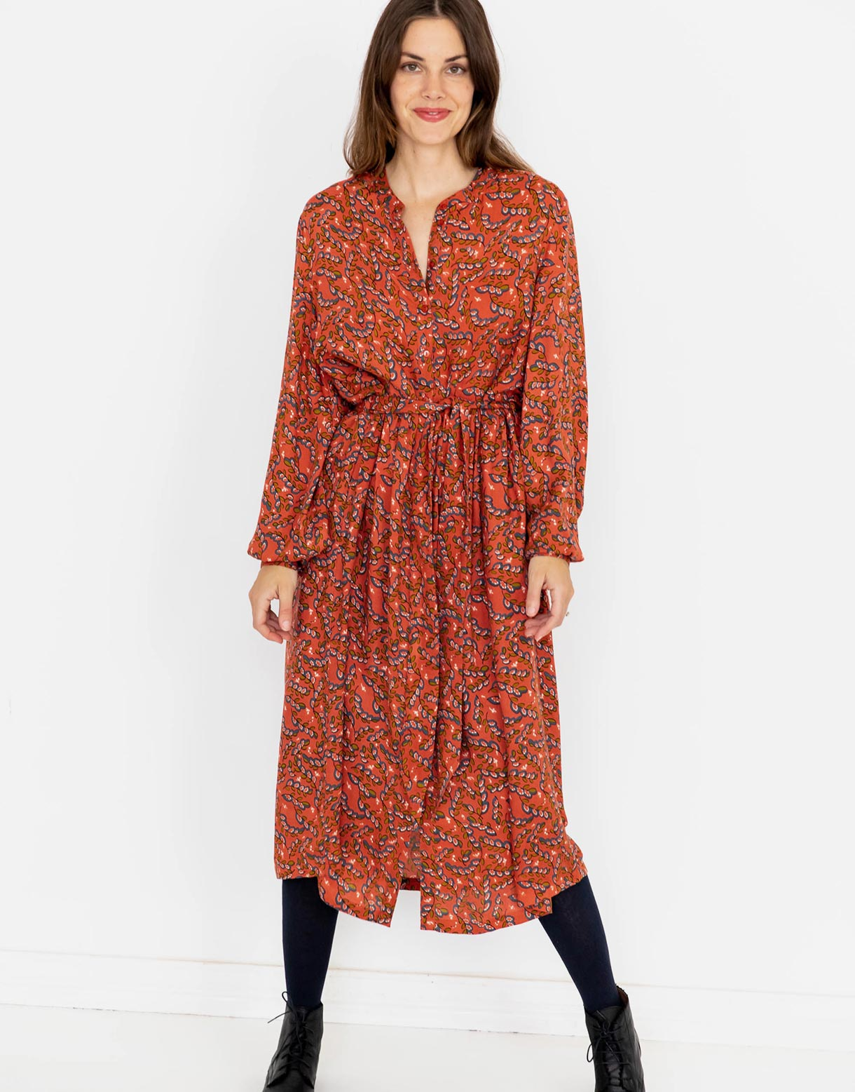 Chloe Dress in Arbor *sustainable viscose