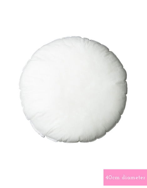 Cushion insert - Round Poly - Small 40cm