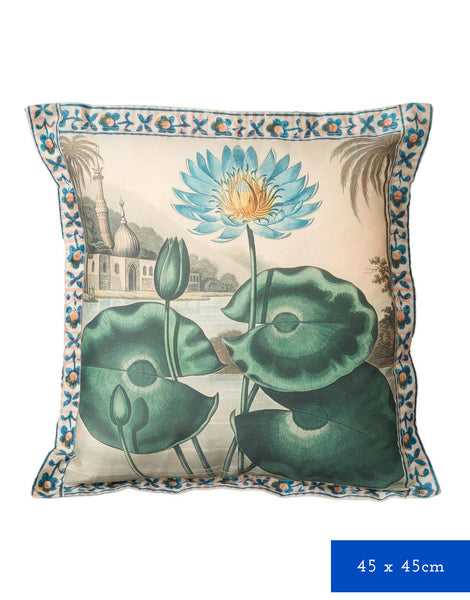 Lotus Cushion Cover *organic cotton