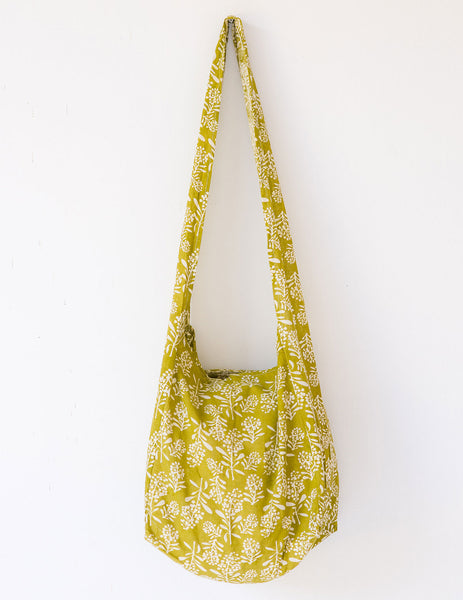 Eco Bag Wattle in Olive