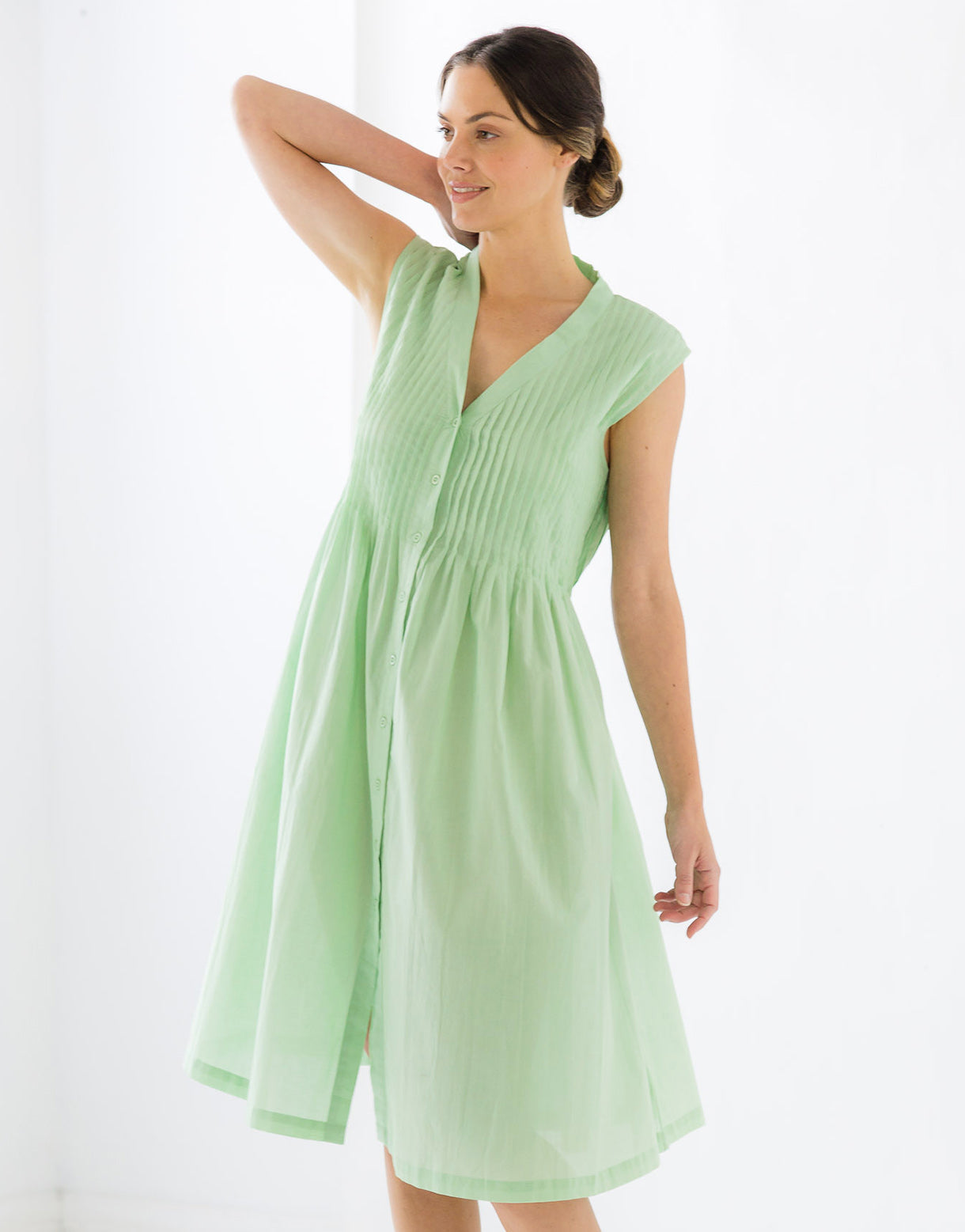 Fay Smock in Mint *organic cotton