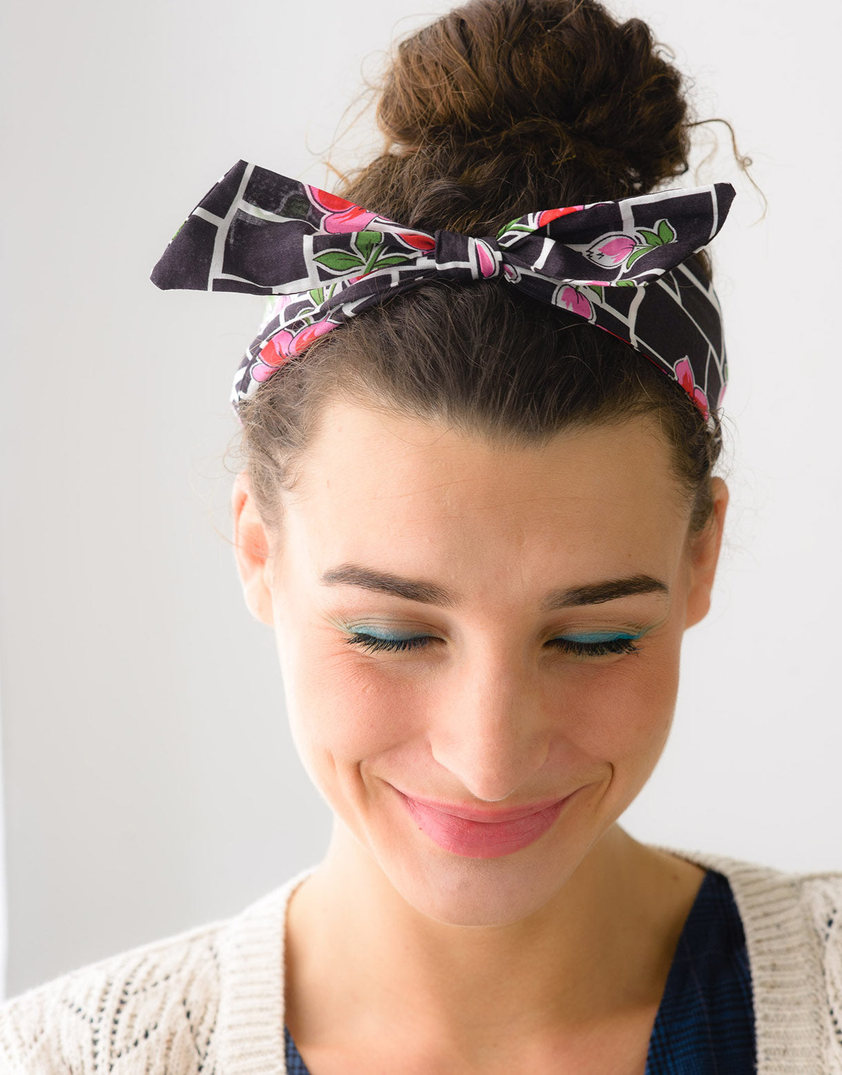 Headband Bow in Zafra