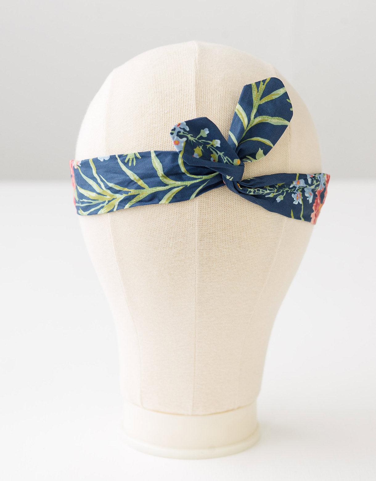 Hair wrap in Delphinium
