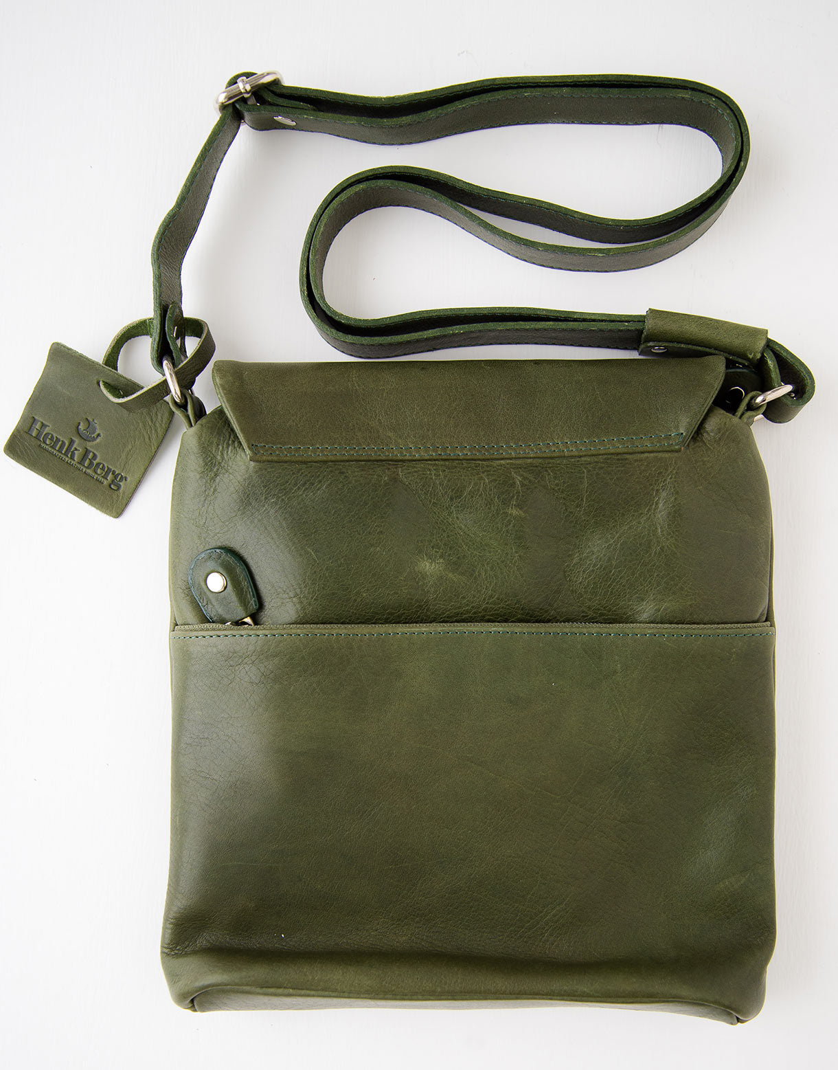 Kit Leather Bag in Green