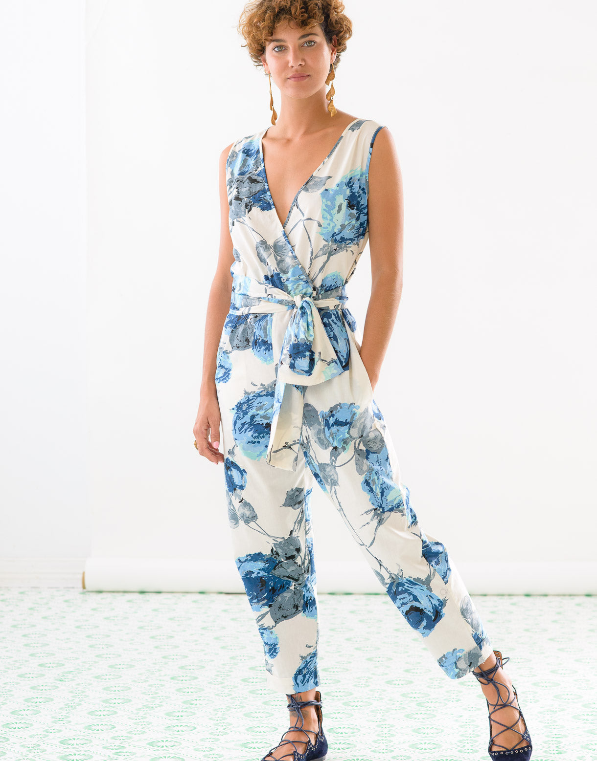 Layla Jumpsuit in Granada