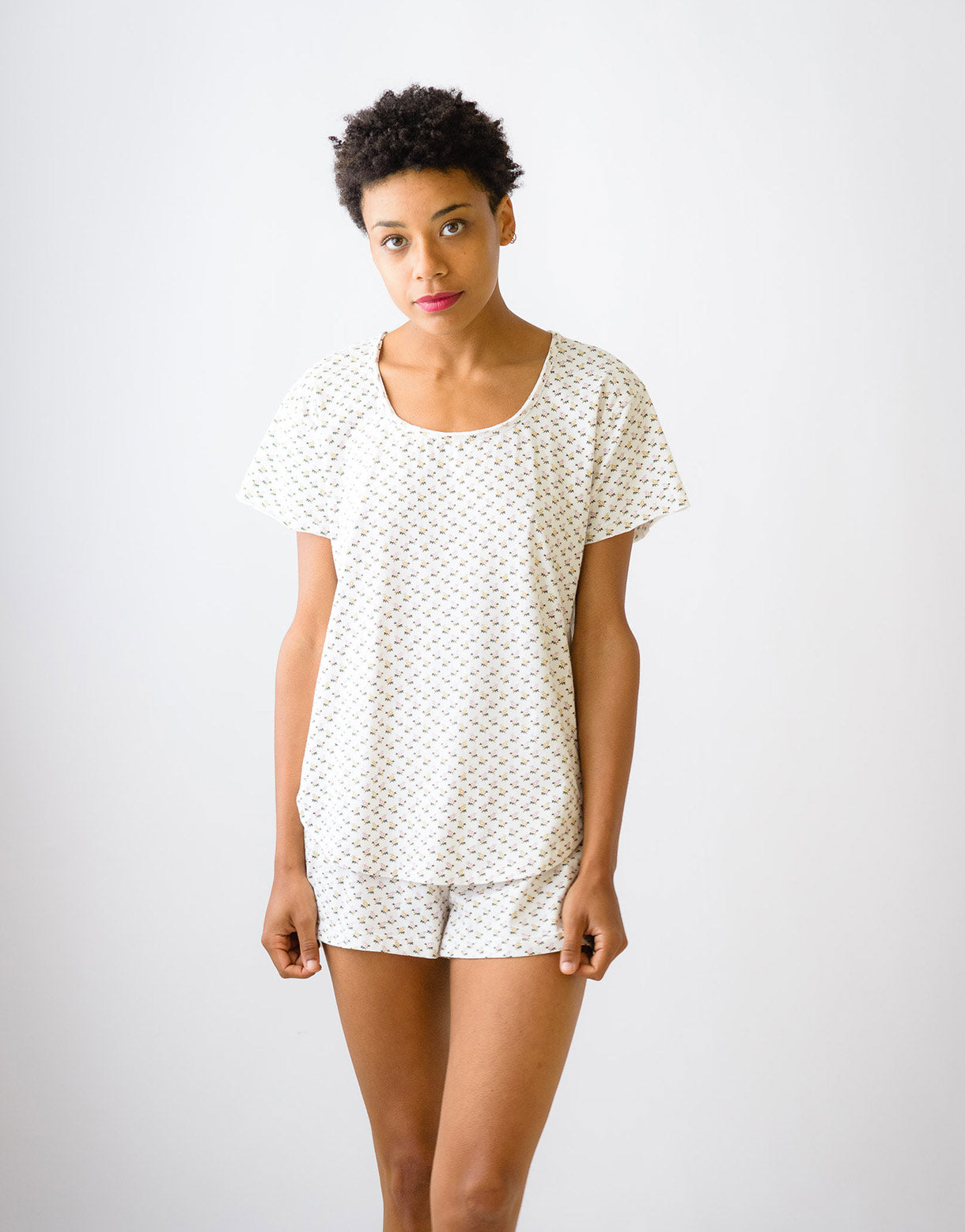 Lena tee in Cosmos *organic cotton