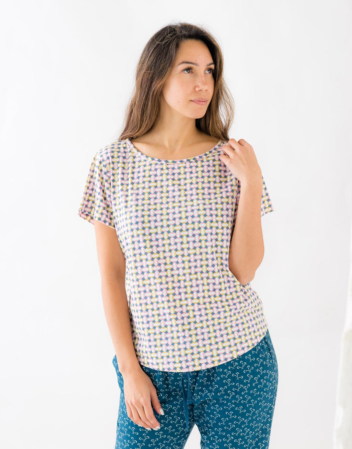 Margie Tee in Swerve *organic cotton