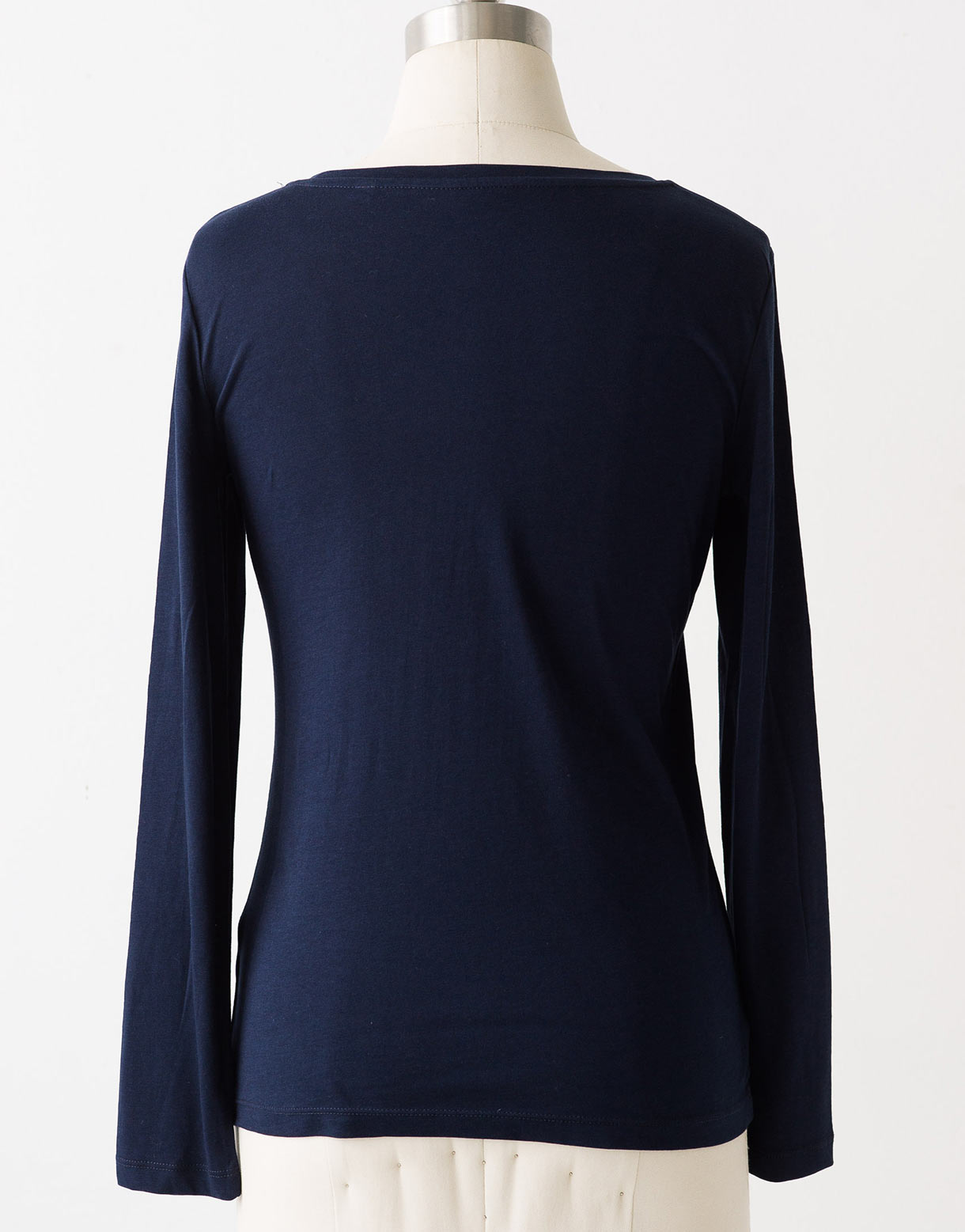 Maris long sleeve tee in French Navy *organic cotton