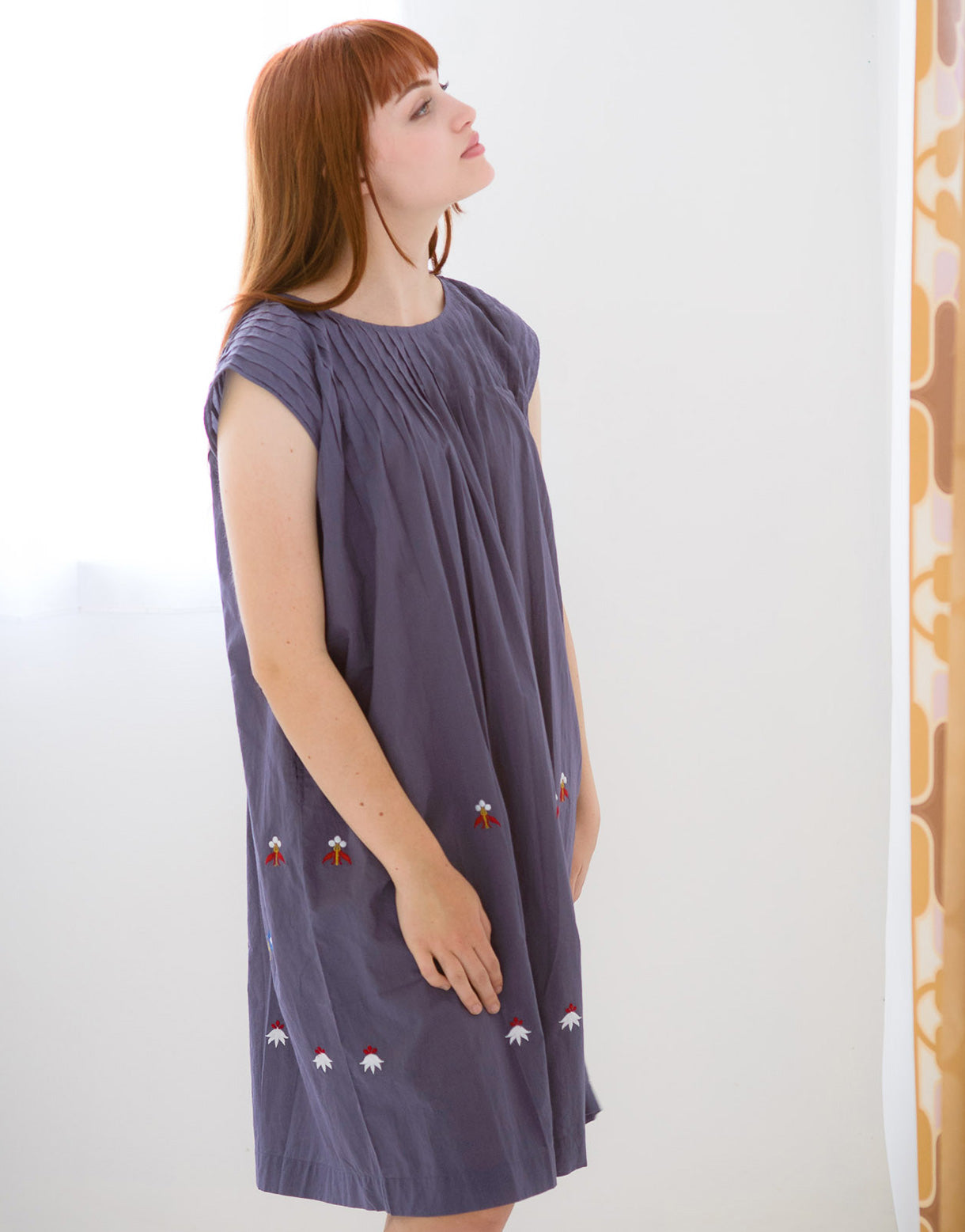 Marley Dress in Dusk *organic cotton