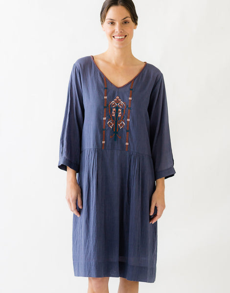 Matilda Dress in Dusk *organic cotton