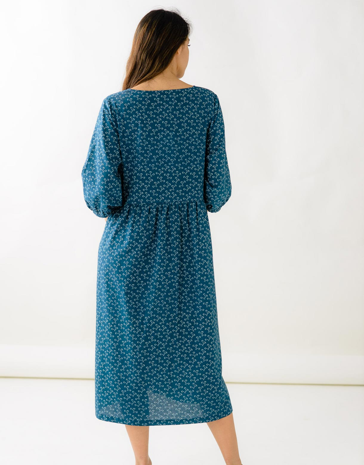 Noeli Dress in Dandy *organic cotton