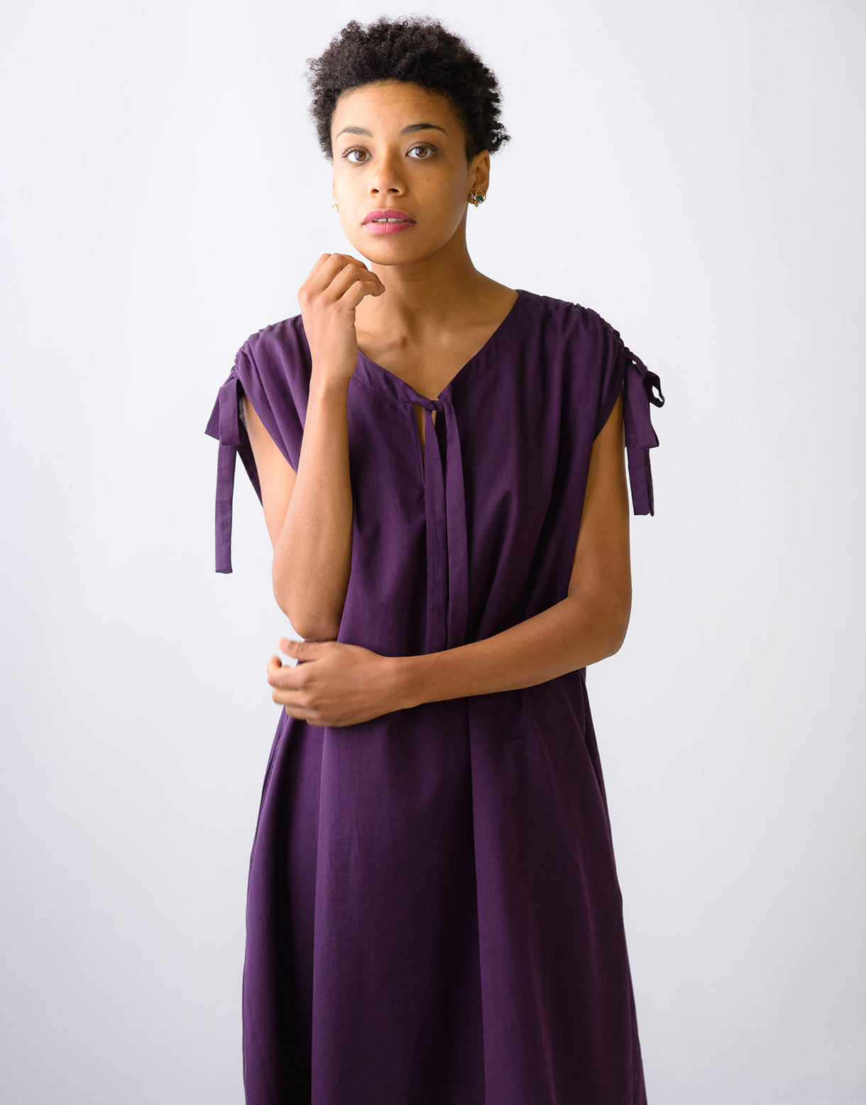 Perri tunic in Fig *organic cotton
