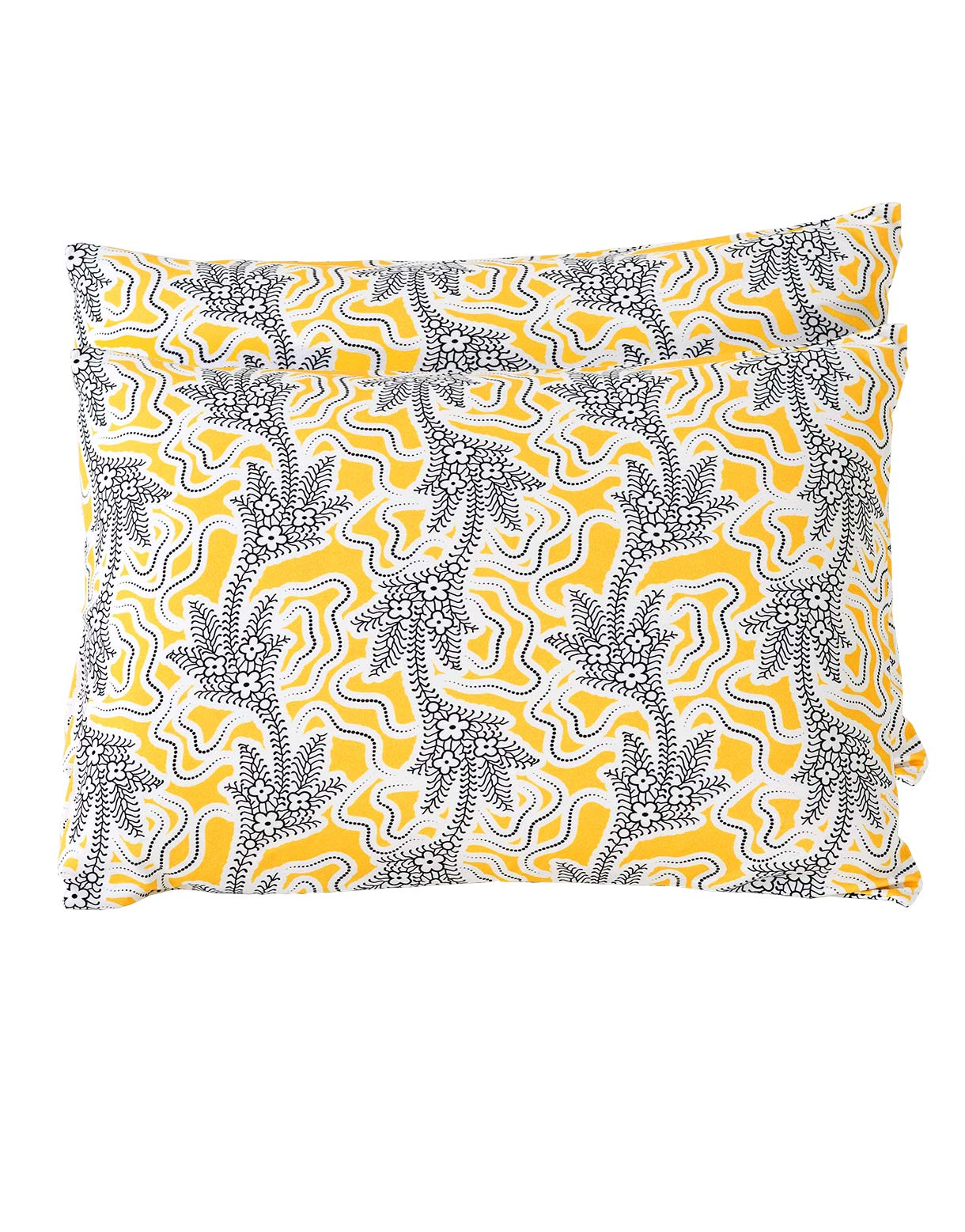 Pillowcase Set in Filigree Marigold *organic cotton