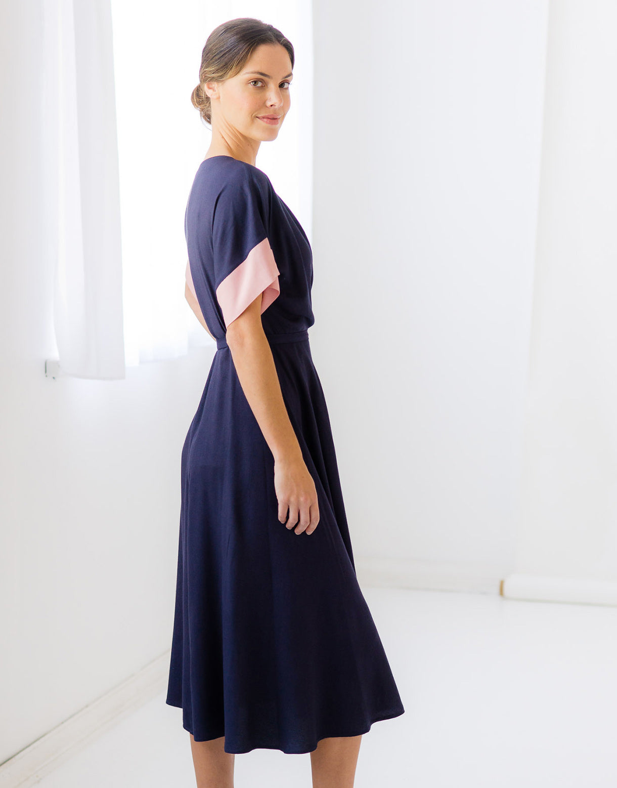Priscilla Dress in Eclipse *sustainable viscose