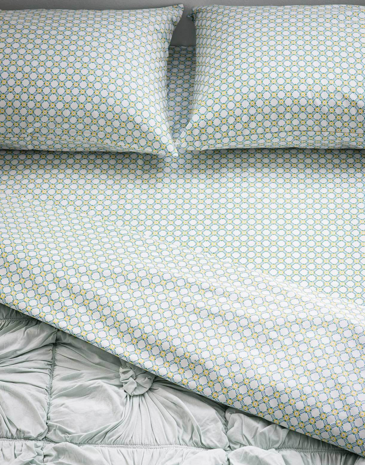 Pillowcase set in Safi *organic cotton