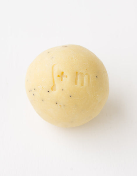 Lemon Poppyseed Soap Balls