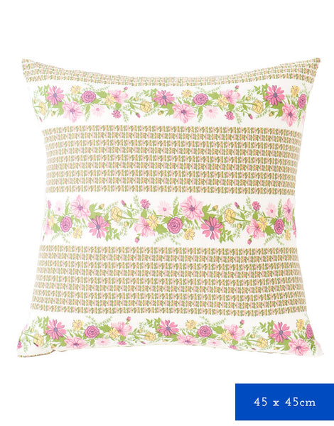 Square Cushion Cover in Petunia