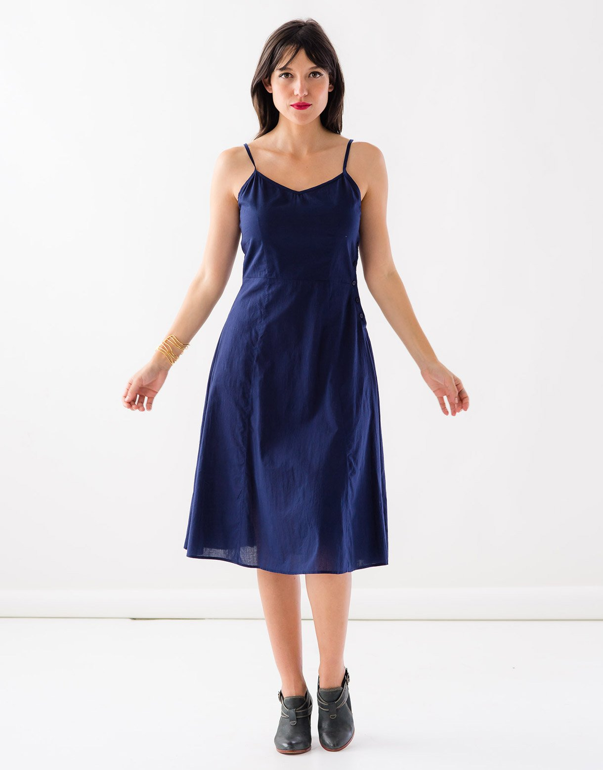 Stevie slip in Midnight *organic cotton