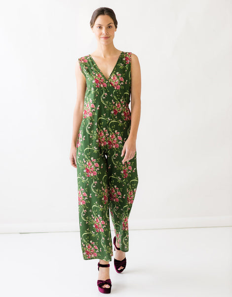 Tessa Jumpsuit in Sweet Pea *organic cotton