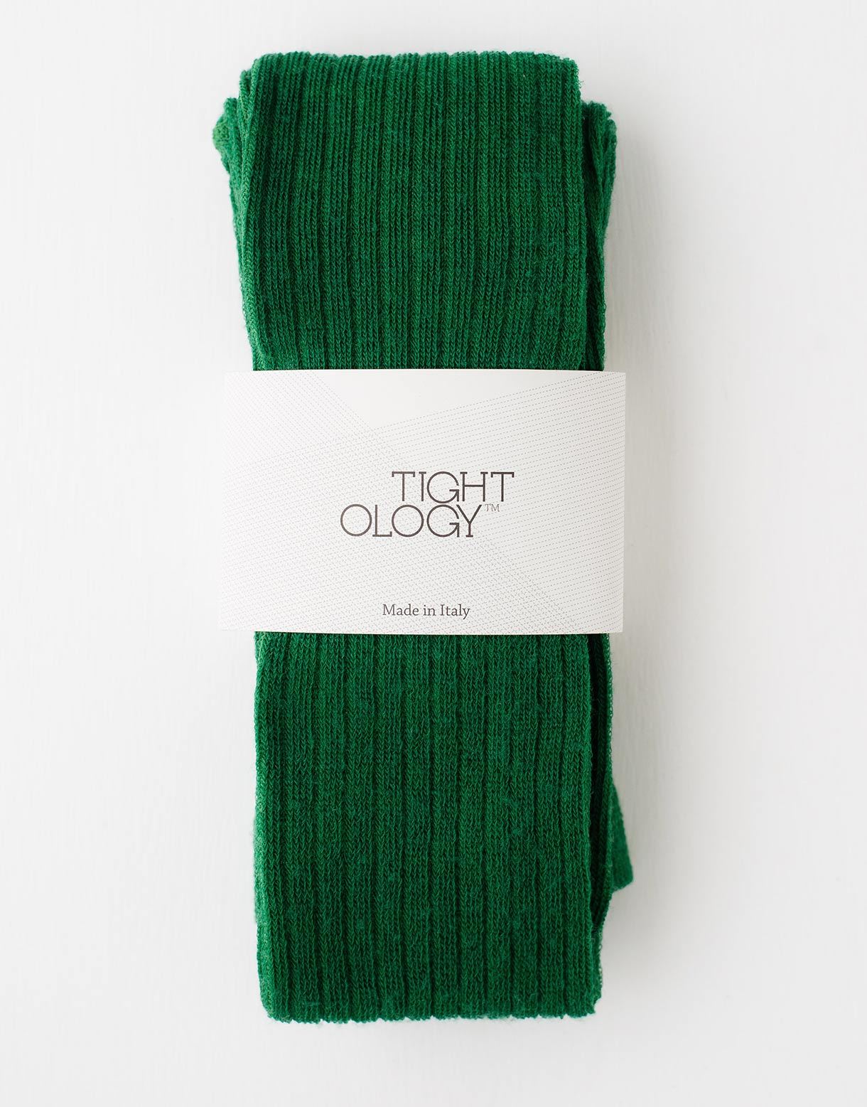 Staple Wool Tights in Green