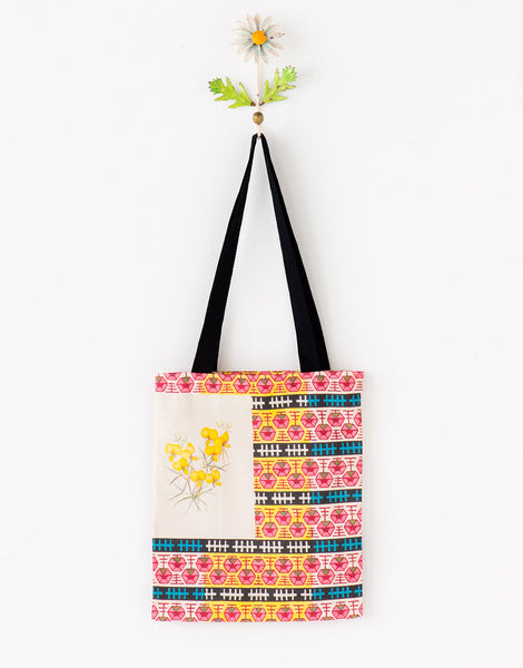 Australian botanic tote bag small *organic cotton