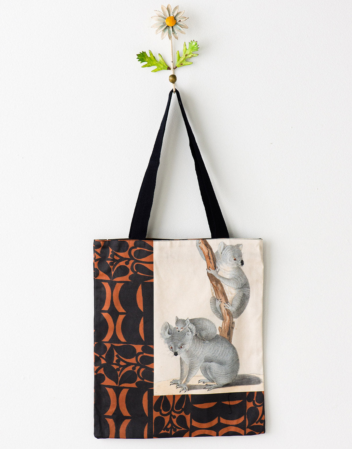 Koala tote bag large *organic cotton