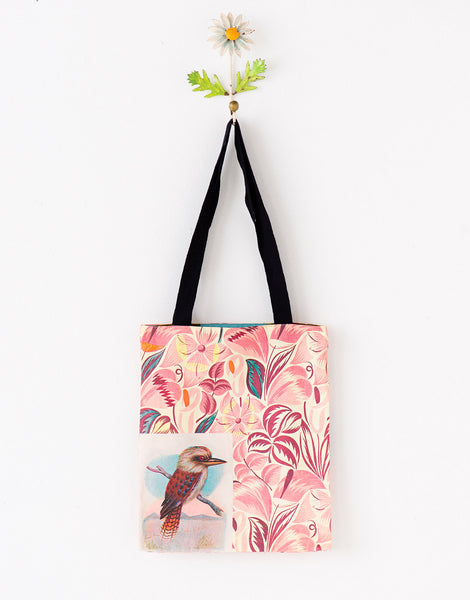 Kookaburra tote bag small *organic cotton