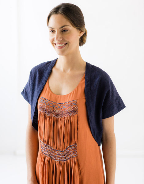 Vera Shrug in Eclipse *organic cotton