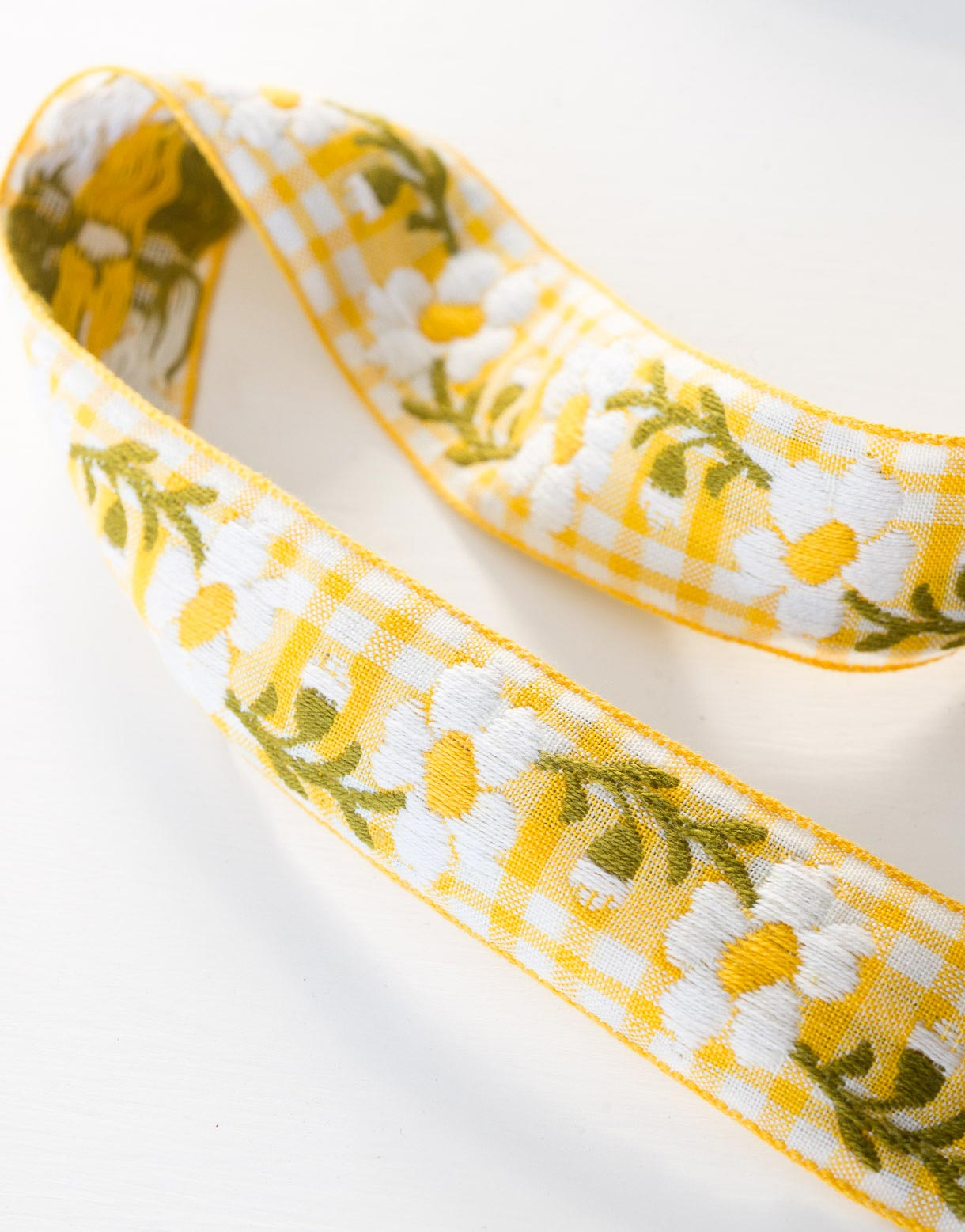 Yellow Daisy Ribbon