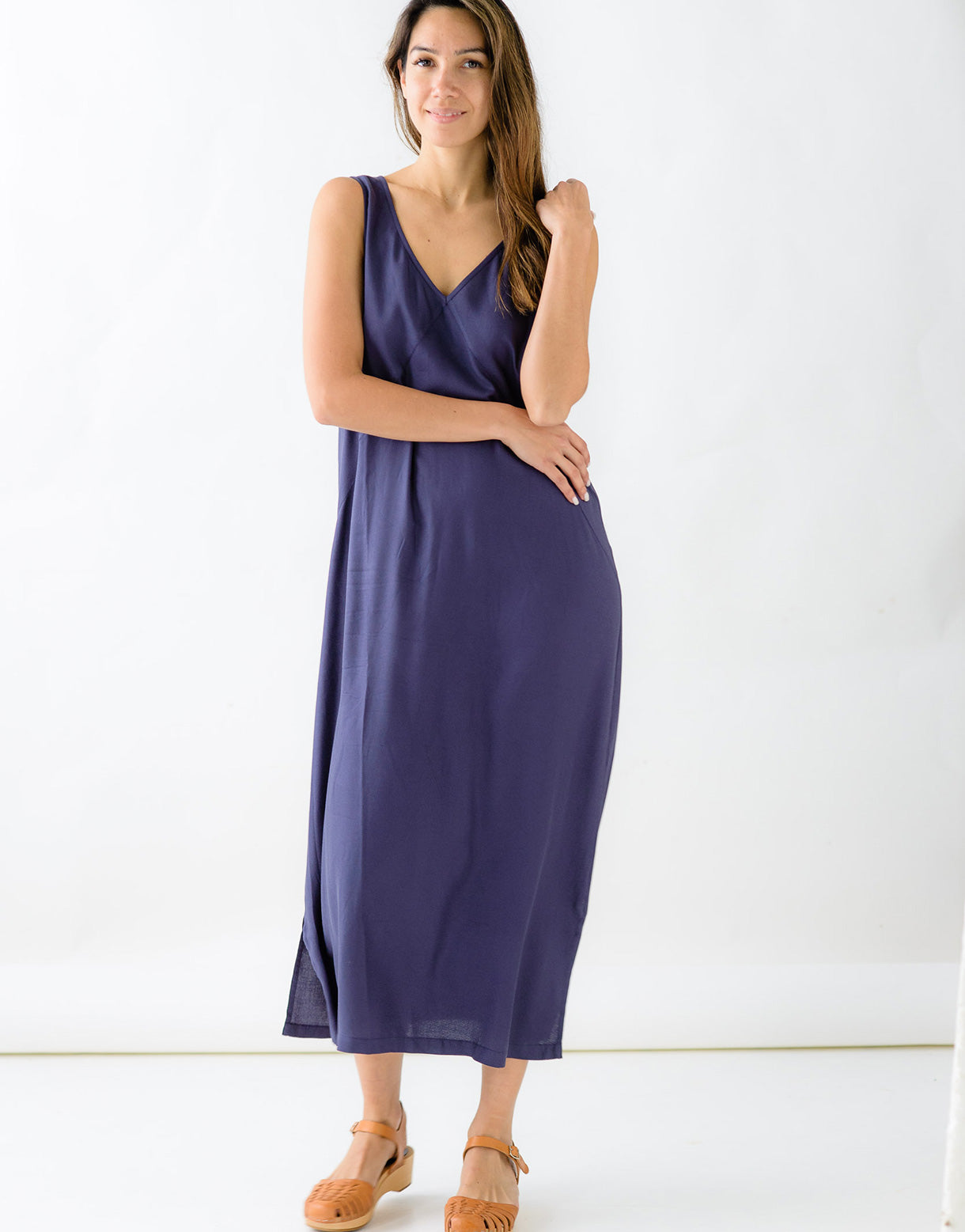 Ziggy Dress in Eclipse *sustainable viscose