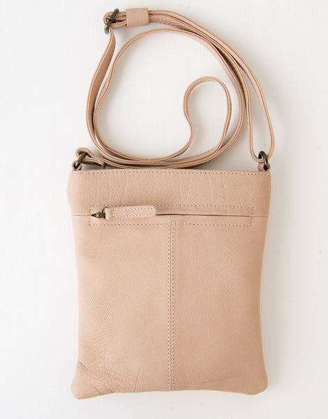 Zoe Bag in Dusky Pink