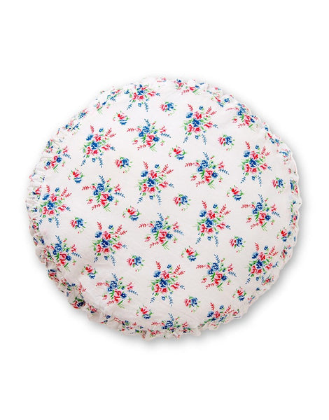 Small round cushion in Sprig