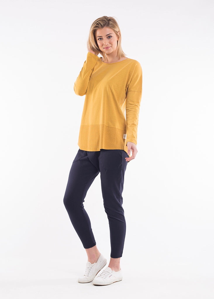 Fundamental Ribbed Longsleeve Tee