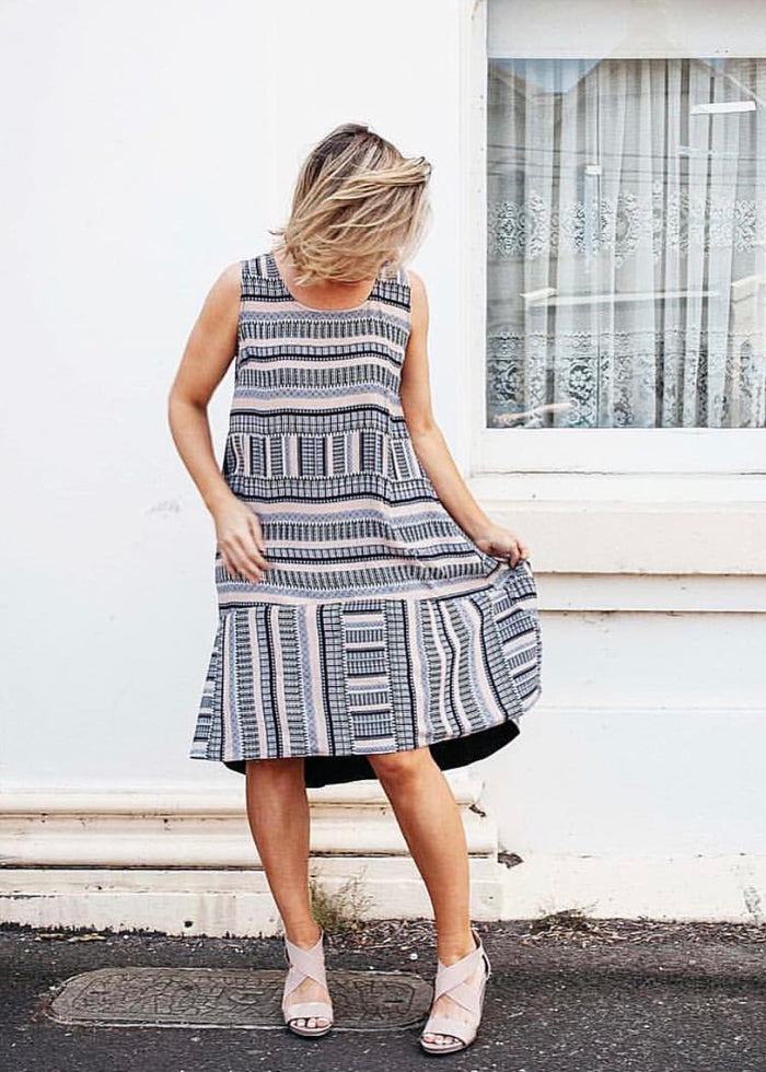 Gisselle Tribal Print Dress