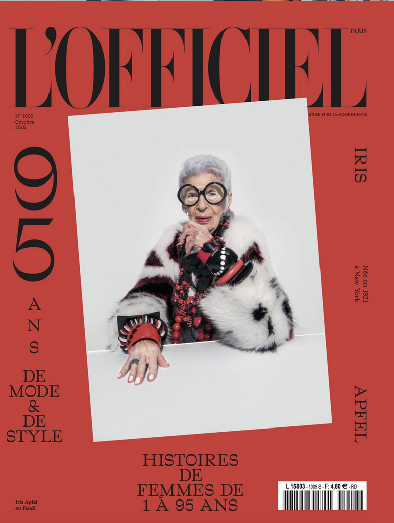 L'Officiel Paris 95th Anniversary - Styled by Erica Pelosini