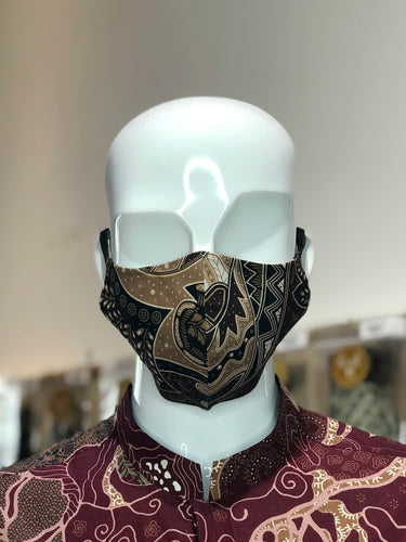 Brown Batik Mask Collection (Standard Size)