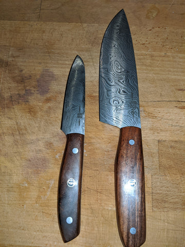 Unkel's wood handle chef combo