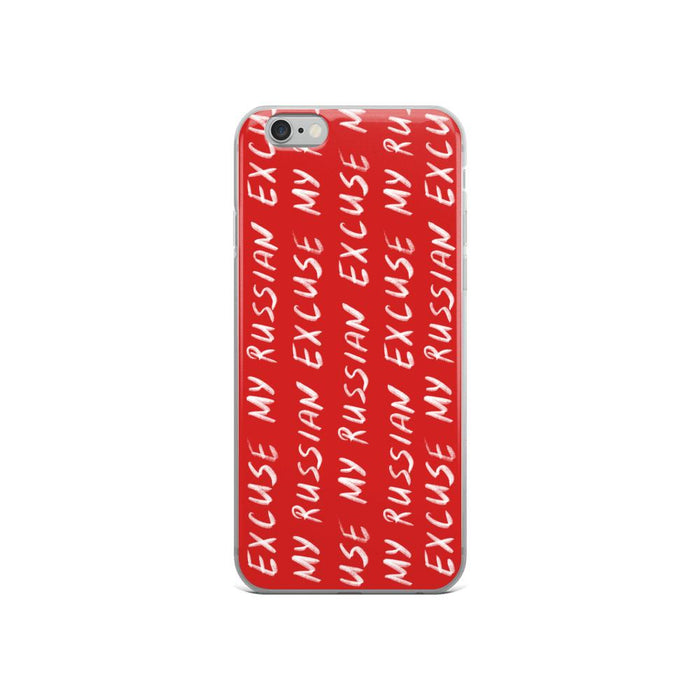Phone Cases - Hand Written Logo IPhone Case Red