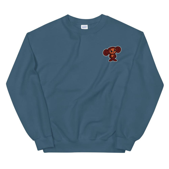 Sweatshirts - Cheburashka Embroidered Unisex Sweatshirt
