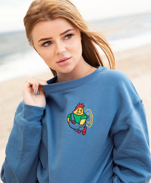 Sweatshirts - Karlsson Embroidered Unisex  Sweatshirt