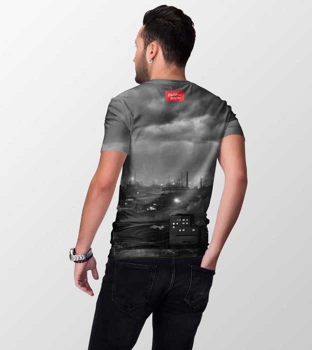 T-Shirts - Chelyabinsk All-Over Printed Men's T-Shirt