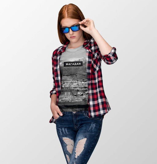 T-Shirts - Magadan All-Over Printed Girl's Tee