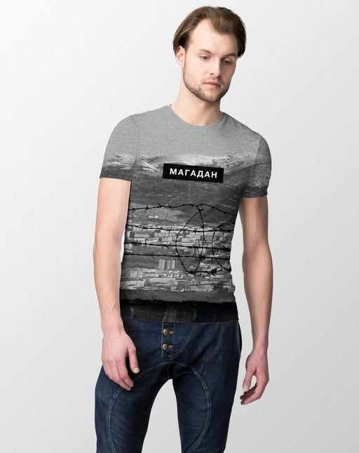 T-Shirts - Magadan All-Over Printed Men's T-Shirt