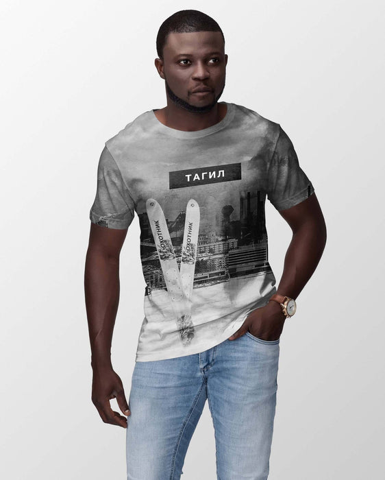 T-Shirts - Tagil All-Over Printed Men's T-Shirt