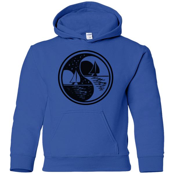 Yin Yang Youth Pullover Hoodie