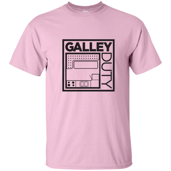 """Know Your Boat"" – Galley - Black on Custom Ultra Cotton T-Shirt"