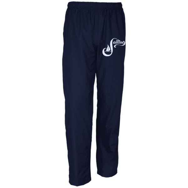 Sailing White on Men's Customized Wind Pant